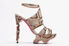 Louboutin...snakeskin!!!!!! Limited Edition