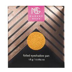 Makeup Geek Foiled Eyeshadow Pan in Untamed