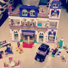 딸이 없으니 나라도... #lego#레고#레고프렌즈#레고프렌즈호텔 #이거 하느라 하루가 다감#꿀잼