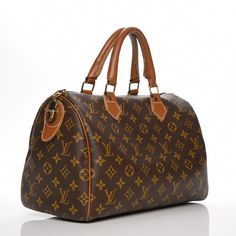 This is an authentic LOUIS VUITTON Vintage Monogram French Co Speedy 30.  This chic vintage 55dc2347f2956