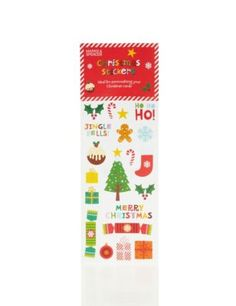 Marks&Spencer - Autocollants Noël
