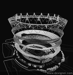 2012 Olympic Stadium Design  by Populous / Architecture