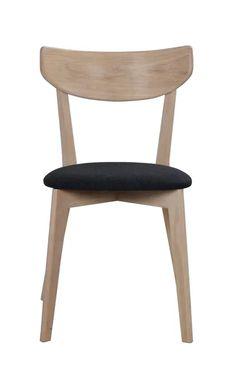Krzesło Ami 48x80 cm ciemnoszare-bielone row113023 » Rowico - sfmeble.pl Dining Chairs, Furniture, Design, Home Decor, Decoration Home, Room Decor, Dining Chair, Home Furnishings