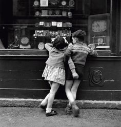 By Edouard Boubat~(sometimes I just feel like a kid again picking out penny candy~and having someone to help me decide~root beer barrel or Mary Jane....