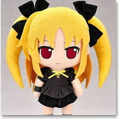 Nendoroid Plus Plushie Series 22: Fate Testarossa - Casual Skirt Ver. (Anime Toy) Gift Nendoroid Plus Plushie Series Magical Girl Lyrical Nanoha The MOVIE 1st