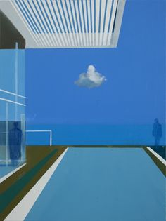 Kenneth Blom · Langt borte · 2016 · 100 x 80 cm
