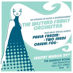 Western Family Orchestra - Gig Poster