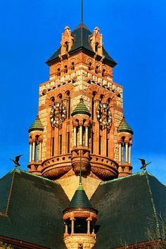 Clock Tower, Ellis County Courthouse, Waxahachie, Texas
