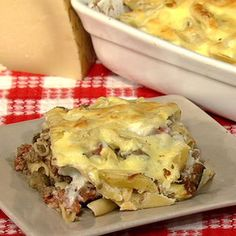 Michael Symon's Pastitsio - the chew - ABC.com. It's basically Greek lasagna - fabulous!