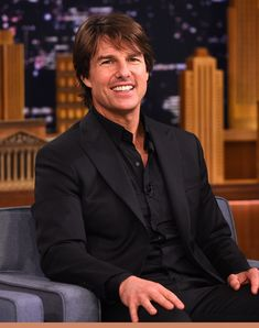 """Tom Cruise Photos - Tom Cruise Visits """"The Tonight Show Starring Jimmy Fallon"""" at Rockefeller Center on July 2015 in New York City. - Tom Cruise Visits 'The Tonight Show Starring Jimmy Fallon' Ton Cruise, Cruise Europe, Best Cruise, Cruise Travel, Cruise Vacation, Celebrity Eclipse, Celebrity Summit, Celebrity Guys, Celebrity Style"""