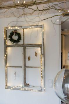 Christmas decoration and a fast DIY - Adventszeit - noel Cheap Home Decor, Diy Home Decor, Rue Verte, Upcycled Home Decor, Navidad Diy, 242, Christmas Decorations, Holiday Decor, Christmas Home