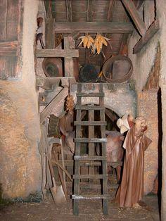 Belen de los hermanos de San Juan de Dios Christmas Tea, Christmas Nativity, Christmas Carol, Chicago Museums, Beautiful Castles, Fairy Houses, Miniatures, Diy, Dolls