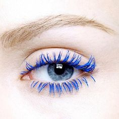 Blue mascara! My sister got some for me when I was a teenager in an attempt to get me to start wearing makeup. (It didn't work.)