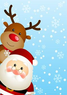 Looking for the perfect outdoor Christmas decoration, then look no further. This Santa and reindeer Christmas door wrap will put the finishing touches on all of your outside decorations this Holiday season. Our fabric door covers take less than a minute to install and are made in Tampa, FL using the highest quality athletic fabrics. All of our fabric door wraps are... - Washable - Reusable - Made in the USA - Simple to put on and take off - Made from athletic FABRIC. These are NOT stickers or de Christmas Drawing, Christmas Paintings, Christmas Art, Christmas Ornaments, Reindeer Christmas, Wallpaper Natal, Holiday Wallpaper, Christmas Clipart, Christmas Pictures