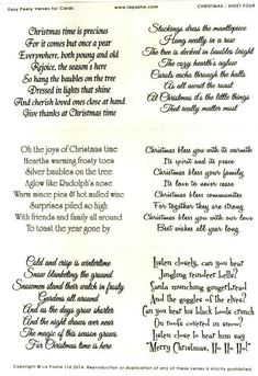 Free Printable Christmas Card Sayings … | Pinterest