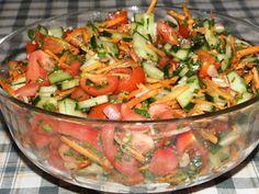 Karcsi főzdéje: Balzsamecetes vegyes saláta Hungarian Recipes, Bacon, Bbq, Paleo, Food And Drink, Vegetarian, Vegan, Sweets, Ethnic Recipes
