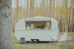 Olive - Canterbury's vintage caravan turned pop-up bar! Caravan Bar. Weddings, New Zealand. www.somekindofwonderful.co.nz