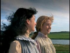 Anne and Diana in Anne of Green Gables