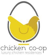 Modern urban chicken coop