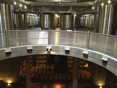 Bodegas Salentein - The winery on two levels; production facilities and cellars below