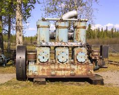 diesel engine by fairbanks morse used on a ship