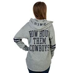 Dallas Cowboys PINK hoodie! How bout them Cowboys