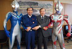 ウルトラマン、今度は熊本の子供を助けるからね