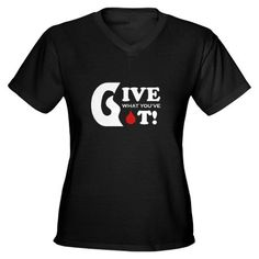 My new blood donor t-shirt. :)