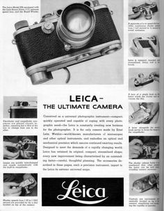 Photography is one of the most expensive hobbies that a person can get into. In addition to the camera, one will also have to buy other equipment. Leica Photography, Scenery Photography, Advertising Photography, Photography Tips, Landscape Photography, Portrait Photography, Wedding Photography, Leica Camera, Nikon Dslr