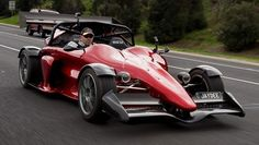 The Quantum GP700 Is Like A Formula 1 Car For Everybody (with $700.000)