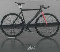 A customized City Type 001 Los Angeles Bike By Jeremy Biggers