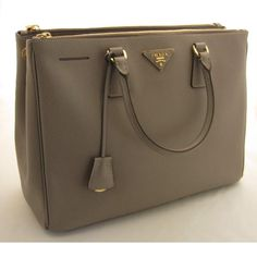 Tip: Prada Handbag (Grey)