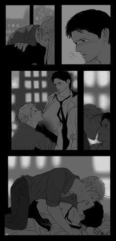 SPN : Lucifer, Castiel 29 by ne2nyeon on deviantART || I can't even regret this... sowy