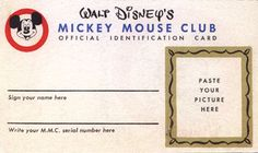 """The Mickey Mouse Treasures"" features a fun assortment of Disneyana facsimiles Disney Theme, Disney Diy, Disney Magic, Mickey Mouse Club, Mickey And Friends, Disney Classroom, My Happy Place, Little Sisters, Walt Disney World"