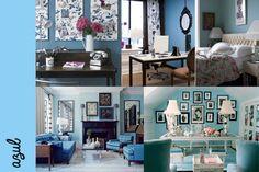 Decoración #blue #decoración #blanco #gabriellafiori