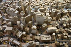 Paper City: Kiel Johnson Crafts Tiny Cityscapes From Scraps Of Cardboard (PHOTOS)