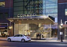 Kohn Pedersen Fox Associates: Projects: Conrad New York Shop Facade, Building Facade, Brand Building, Building Design, Hotel Canopy, Patio Canopy, Office Canopy, Entrance Design, Main Entrance