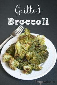 How to Grill Broccoli - so easy, so healthy... so delicious!