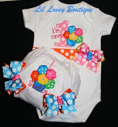Hey, I found this really awesome Etsy listing at https://www.etsy.com/listing/127763799/birthday-bodysuit2pc-blooming-cupcake