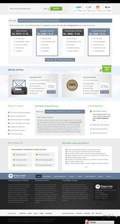 Unique Links New Design http://www.unique-links.com.pk #design #webhosting #hosting