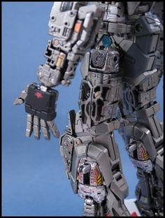 Internals - PG 1/60 Aile Strike Assault custom w/ Skygrasper - Gallery - PLAMOCON