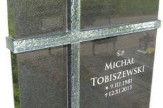 014__tablica_granitowa_ze_szklem_-_nagrobki_nowoczesne_swietochlowice Monuments, Funeral, Chalkboard Quotes, Art Quotes, Black Granite