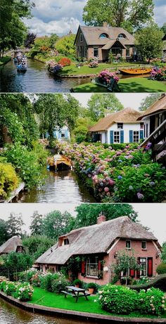 Dreaming of the simple life? Well, let me introduce the cutest, most adorable town in the world, Giethoorn. It's a village in the Netherlands, also known as 'Little Venice' or... Netherlands Travel Få adgang til webstedet for at få oplysninger http://storelatina.com/netherlands/travelling #travelNetherlands #holland #hollandtravel #photography