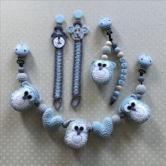Crochet Baby Crib/Cosi/ Pacifier Hanger