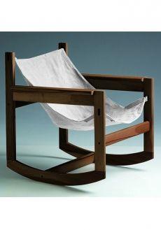 Pelicano rocking chair - Natural