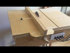 Building 4 In 1 Workshop Homemade Table Saw Router Table Disc Sander Jigsaw Table Youtube Diy Table Saw Homemade Tables Jigsaw Table