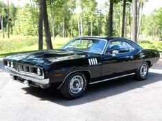 1971 Plymouth Barracuda - In my opinion, this is one of the most badass mother fucker muscle car ever built.