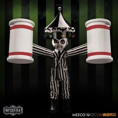 Beetlejuice Living Dead Dolls Puppe Showtime Beetlejuice 25 cm