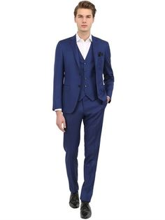 Milano 73 Wool & Mohair 3 Piece Suit