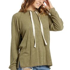 Cuddle up with this super soft hoodie by Elan! Made in the USA. $64. Tap image to Shop Now